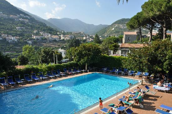 Giordano Hotel Ravello The Pool And Views