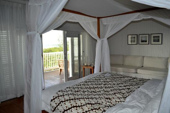 COMO Parrot Cay, Turks and Caicos: simple, clean, beautifully decorated rooms