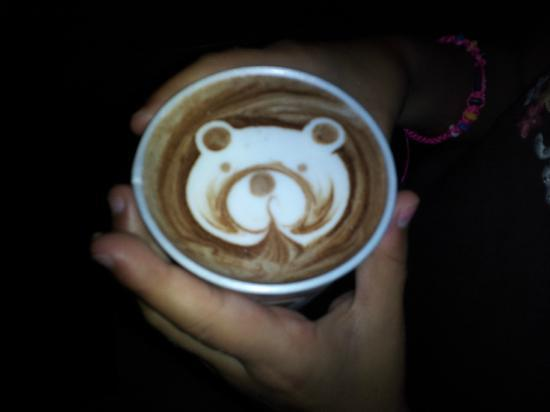 Ah Cacao Chocolate Café: My daughters hot coco. Too creative and cute.