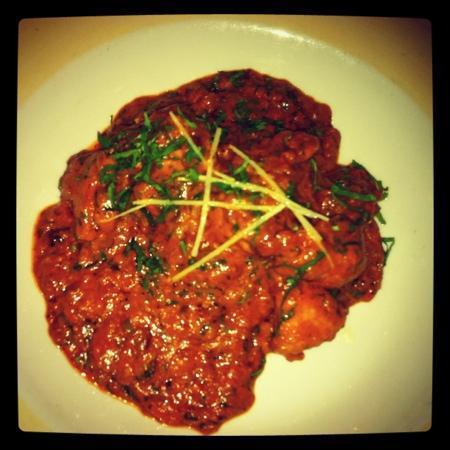 Green Gates Indian Restaurant: chicken tikka masala
