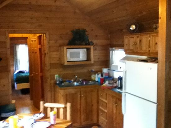 Allentown KOA Campground: kitchen lodge 1 full no stove