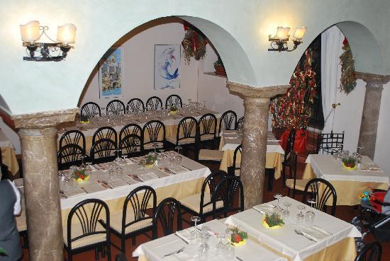 La Piazzetta : Sala interna