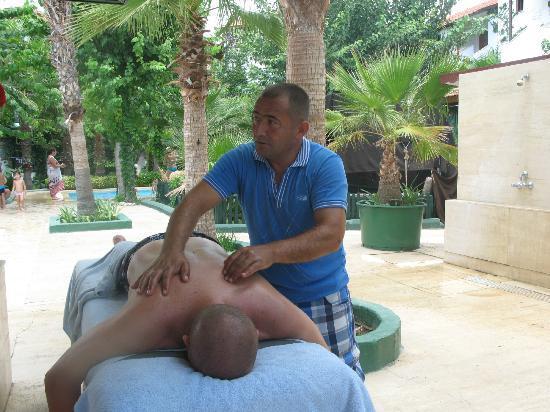 Top Hotel: отличный массаж!