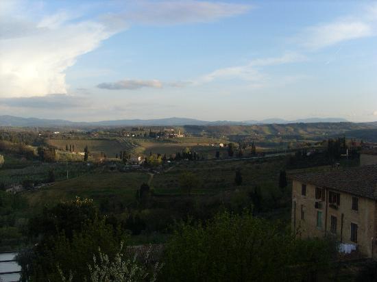 Locanda La Mandragola: il panorama dal terrazzo