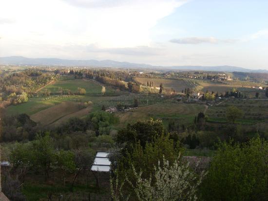 Locanda La Mandragola: vista dal terrazzo
