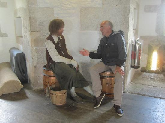 St. Mawes Castle: I wish I'd got your hair