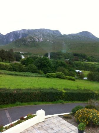 Glen Heights, B&B: View across to the Derryveagh mountains and Poison Glen