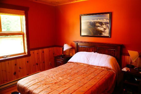 Gite du Mont-Albert: Chambre.
