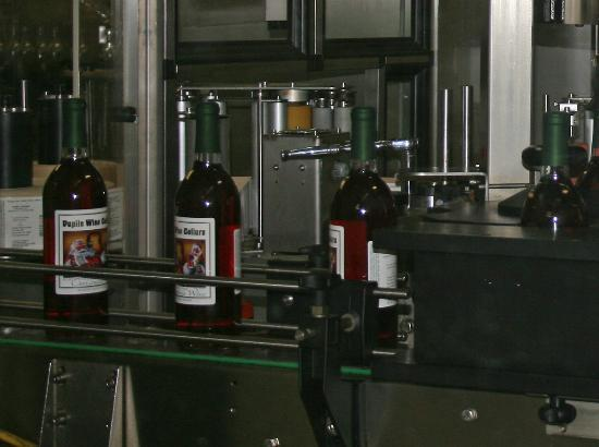 Duplin Winery: Bottling the Christmas wine in July!