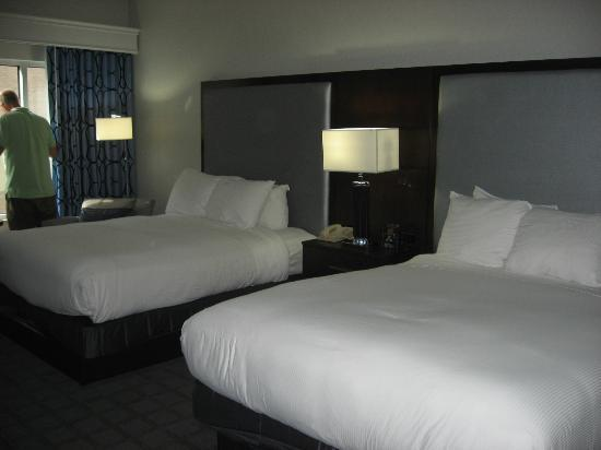 Hilton Scranton & Conference Center: our room