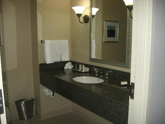 Hilton Scranton & Conference Center: bathroom