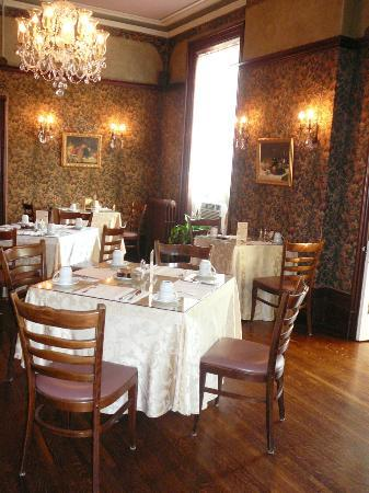 Perth Manor Boutique Hotel: Dining area