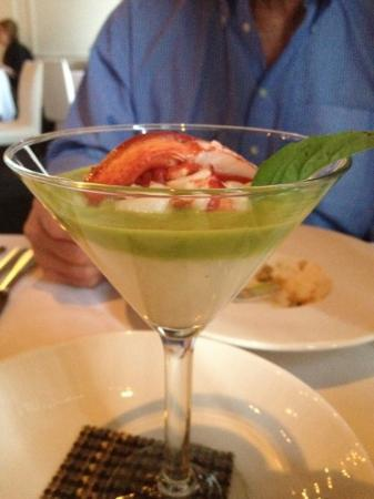 Aria : the Lobster Appetizer