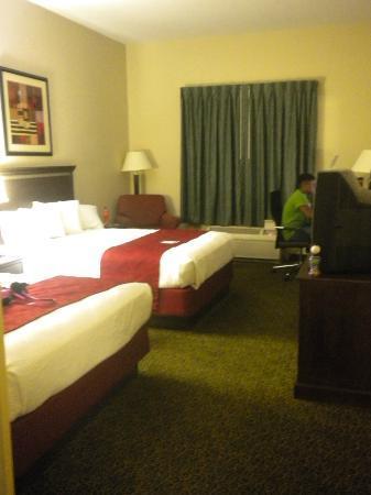 Best Western Auburndale Inn & Suites: Plenty of Space