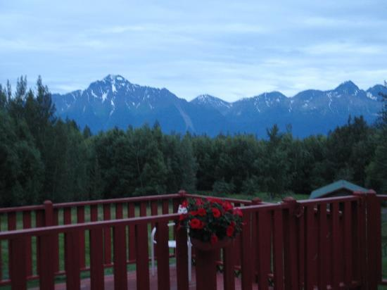 Alaska's Harvest B&B: View From Back Porch (public)