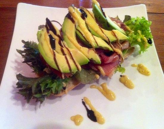 The Station Cafe and Restaurant: B.L.A.T open sandwich