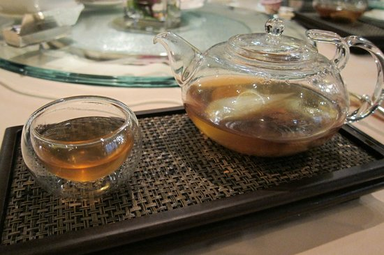 Ming Court: Fresh Abalone Chicken Consomme with Mushroom and Vegetable