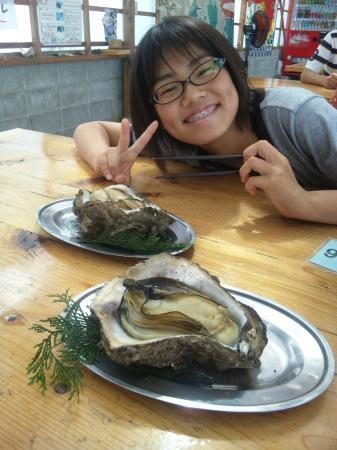 Pearl Road: 最高の味、岩ガキ