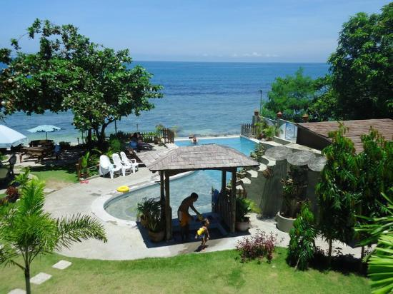 La Union Province, Philippines: View from room veranda