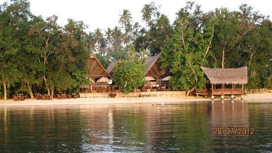 Ratua Island Resort & Spa: from boat