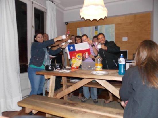 Hostal de la Barra: Amigos!