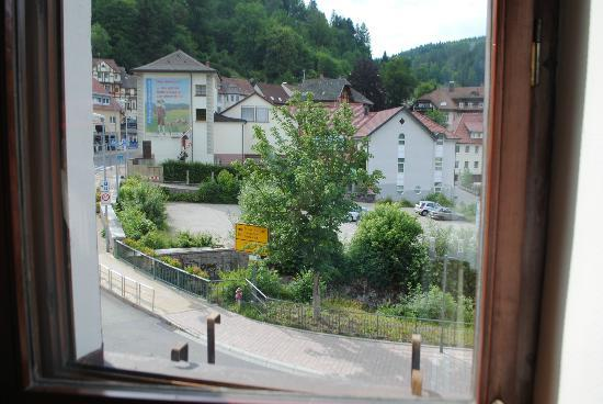 Hotel Restaurant Pfaff: View from side window in our room