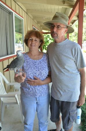 Shasta Lake Motel: The sweet owners: Jay & Stephanie