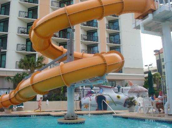 Caribbean Resort And Villas: Water Slide