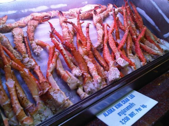 Cold crab claws picture of the seafood market and for The fish market restaurant