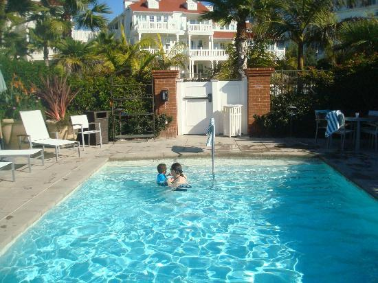 Hotel del Coronado: Private pools for BV guests only