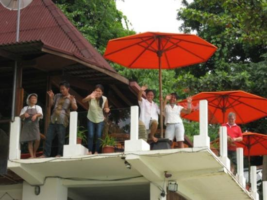 Bunaken Cha Cha Nature Resort: friendly staff