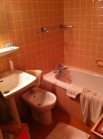 Chalet Hotel de Borderan : salle de bains dernier cri