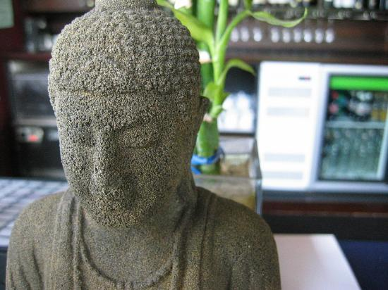 Restaurant 88: One of our many Buddha