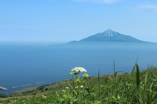 Rebun-cho, Japan: 桃岩展望台から見た利尻