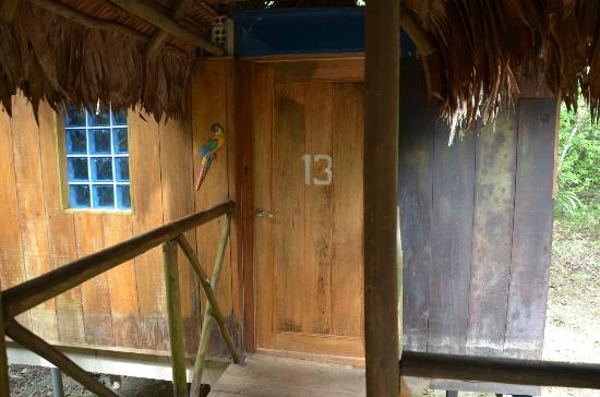 Muyuna Amazon Lodge: The room entrance