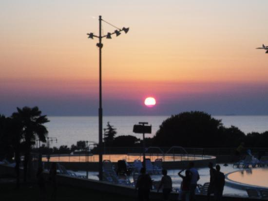 CampingIN Park Umag: tramonto