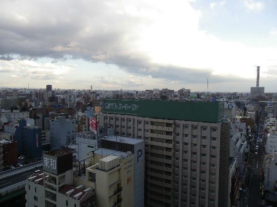 Nagoya Tokyu Hotel: 高層階のせいか、とても眺めが良かったです。