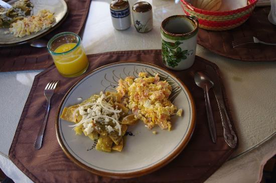La Villa del Ensueno Hotel: Breakfast