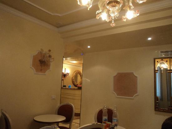 Hotel San Luca: vu de la salle à manger