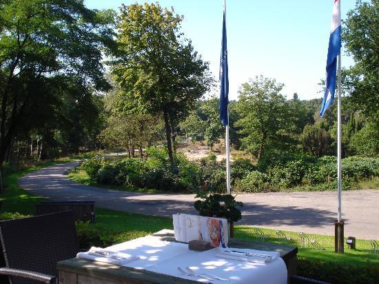 Fletcher Hotel-Restaurant Sallandse Heuvelrug : Uitzicht vanaf het terras