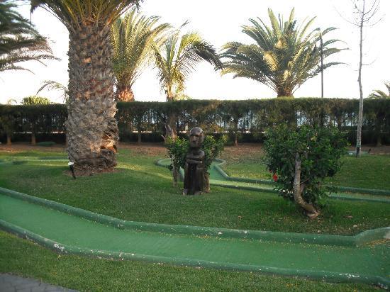 Hotel Beatriz Playa & Spa: sculpture near the mini golf