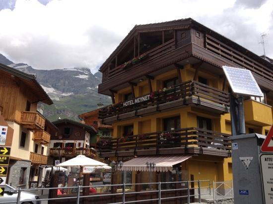 Hotel Meynet : facciata hotel