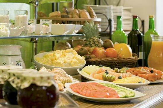Kitz Garni Boutique Hotel: Frühstücksbuffet