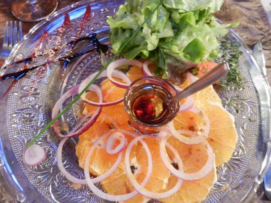 Le Galion : Salade d'orange au gingembre