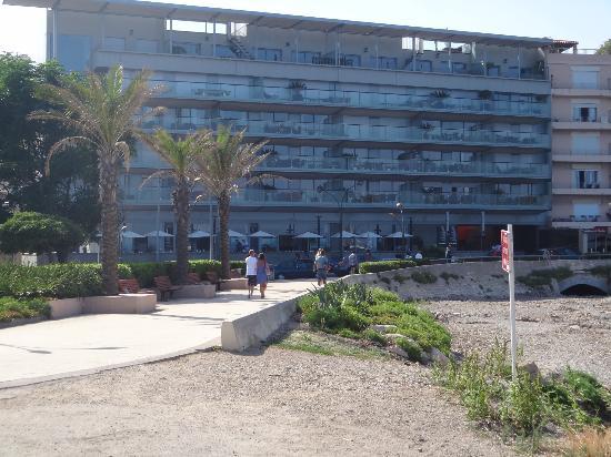 Royal Antibes Hotel, Residence, Beach & Spa: foto vanaf de pier genomen