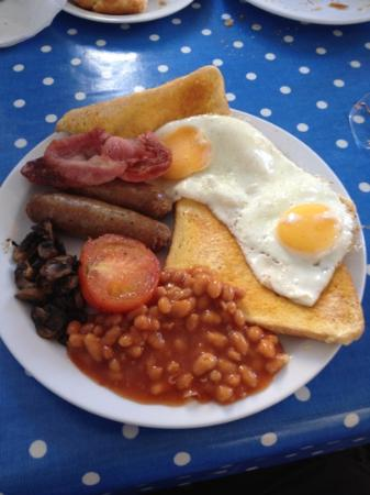 Earthlights Cafe: excellent breakfast