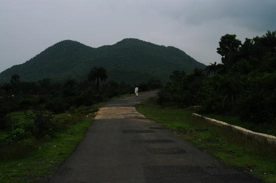 Bankura, India: ledo pahar