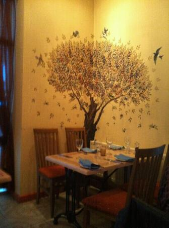 wall art - Picture of Alexandros Greek Restaurant and Deli, Carlisle ...
