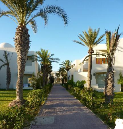 Club Diana Rimel Djerba: accès aux chambres