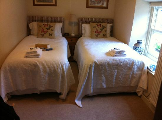 Masham, UK: Twin single room